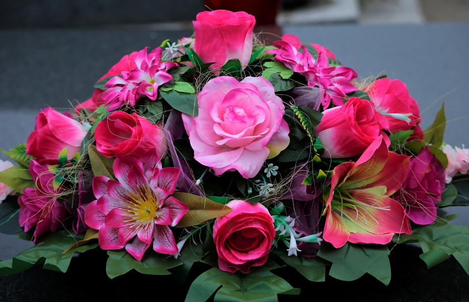 Flores para un difunto